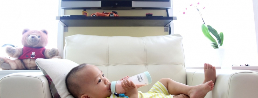 Flasche statt Mama